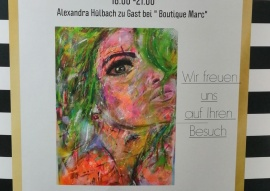 Vernissage am 29.3.19; 18:00 Uhr – 21.00 Uhr