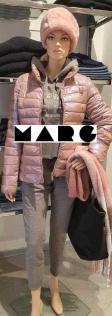 Boutique Marc Damenmode Schaufenster Logo